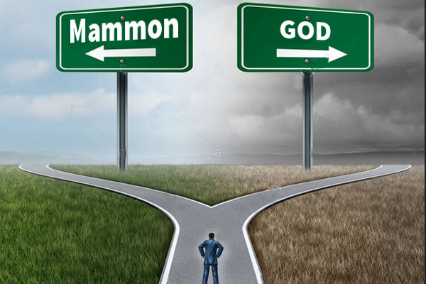 Servant of God Or Servant of mammon
