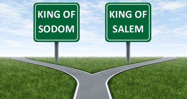 Following King of Sodom or King of Salem